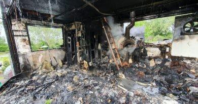 Groźny pożar znanej restauracji we Władysławowie